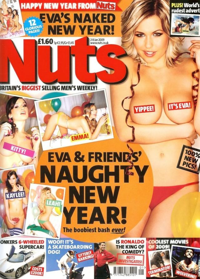Topless girls from NUTS - 01