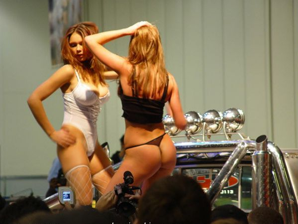 Pretty girls and exhibitions - 16