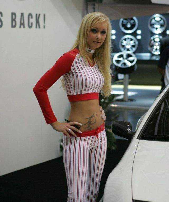 Pretty girls and exhibitions - 50