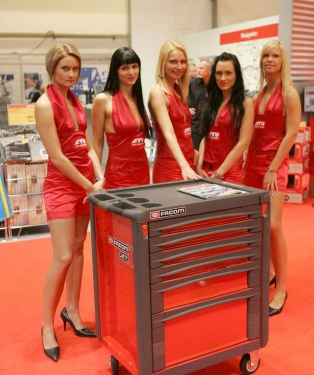 Pretty girls and exhibitions - 53