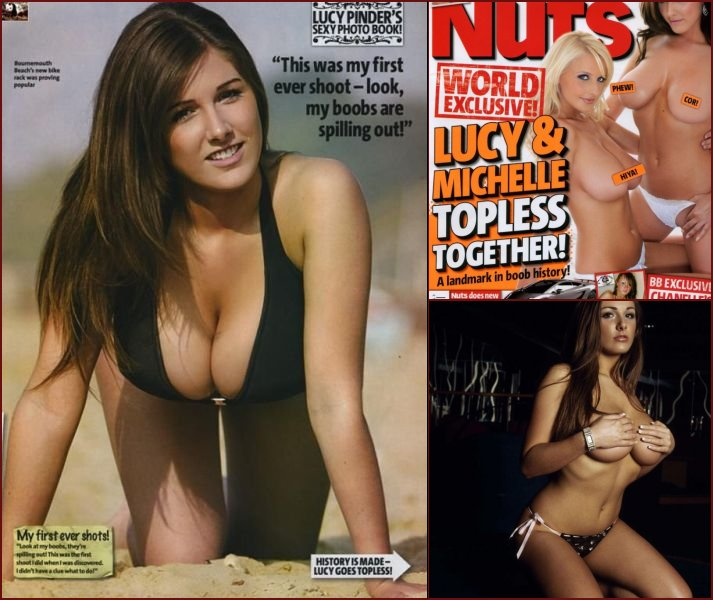 English lady Lucy Pinder - 20090106