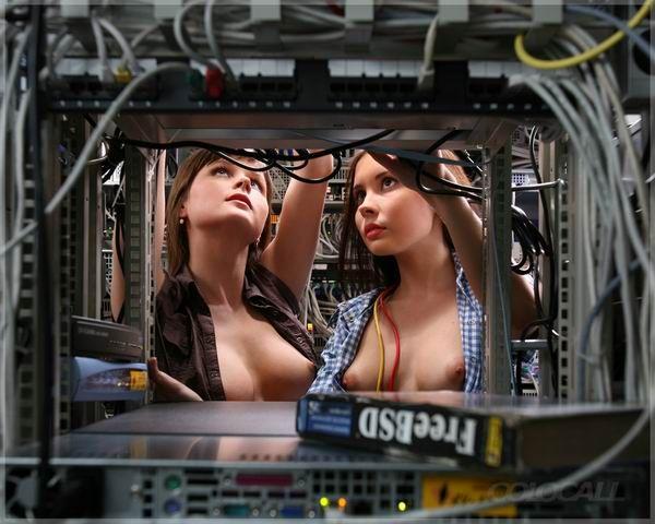 Girls at work - 01