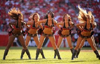 The best NFL cheerleaders of 2008