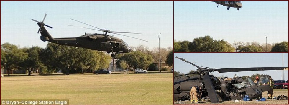U.S. military helicopter crash - 20090115