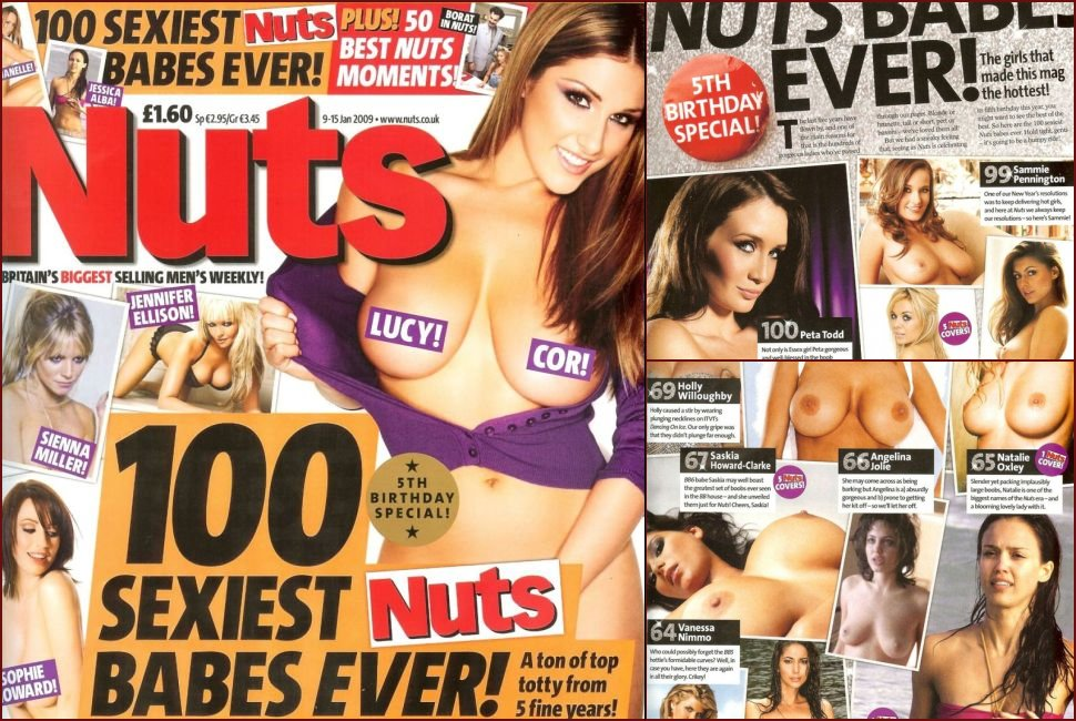 100 Sexiest Nuts Babes Ever! - 100