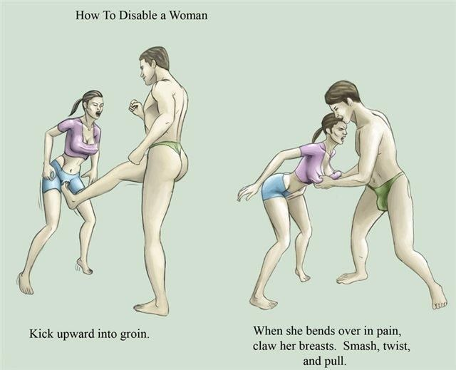How to disable a woman...[pic]
