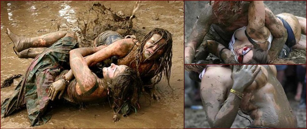 Mud fight - 20090128