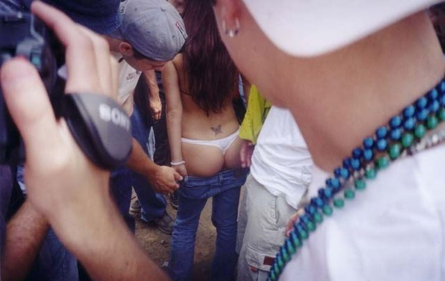 Topless girls on the concerts and festivals - 103