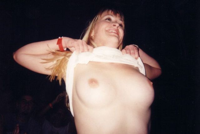 Topless girls on the concerts and festivals - 28