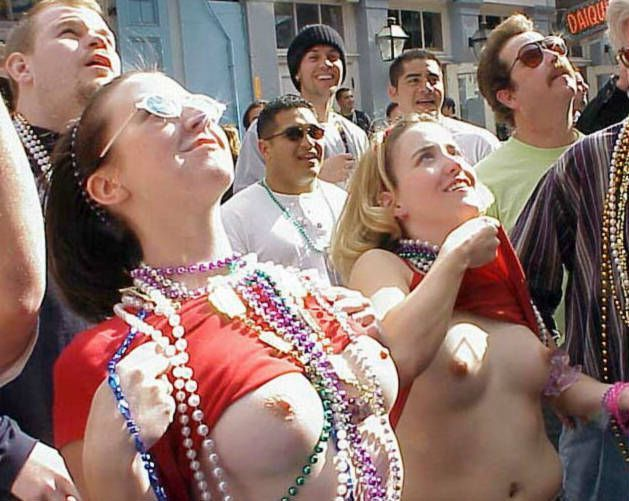 Topless girls on the concerts and festivals - 53