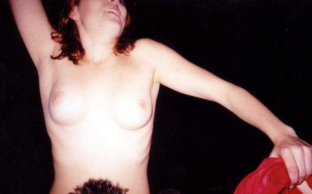 Topless girls on the concerts and festivals - 56