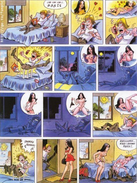 Erotic comics (16 images)