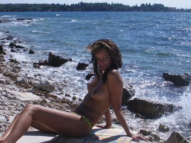 Naked girls on the beach - 15