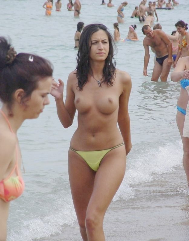 Naked girls on the beach - 44