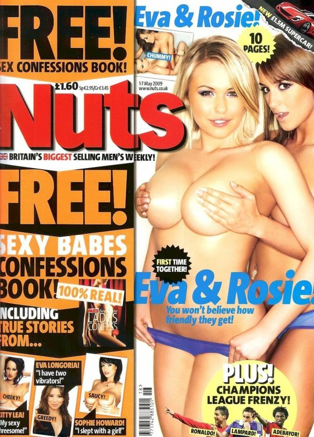 Eva Wyrwal & Rosie Jones topless in Nuts - 01