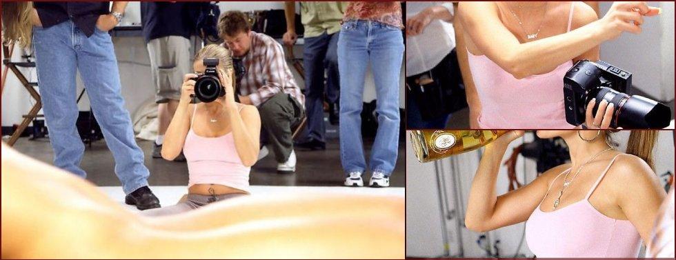 Carmen Electra's erotic photoshoot - 20090505