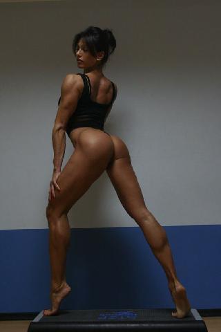 Viktoria - the hottest bodybuilder on the planet