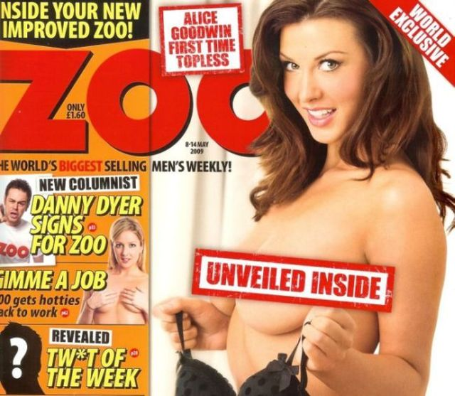 Alice Goodwin in Zoo Magazine - 00