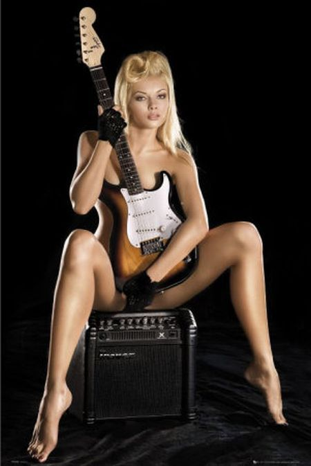 Sexy girls with guitars - 15
