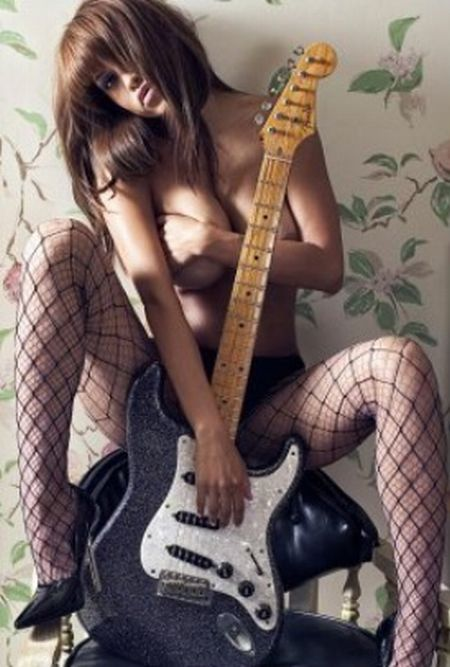 Sexy girls with guitars - 16