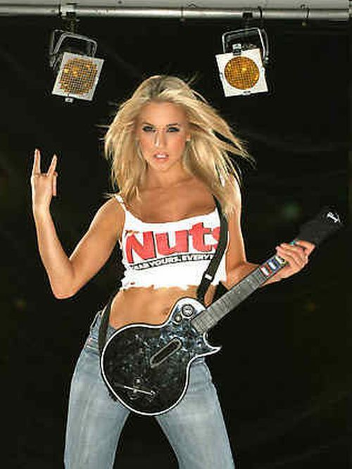 Sexy girls with guitars - 20