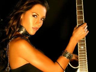 Sexy girls with guitars