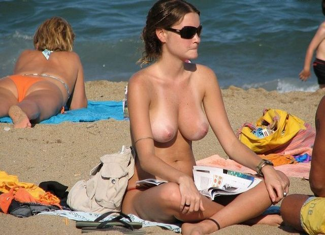 Topless beauties on the beach - 03