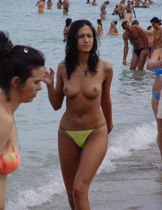 Topless beauties on the beach - 07