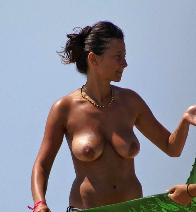 Topless beauties on the beach - 42