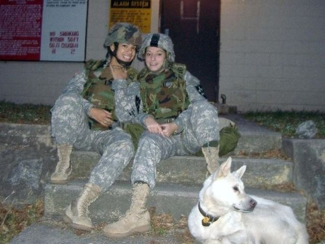 She was fired from US Marine Corps because of these photos on MySpace - 00