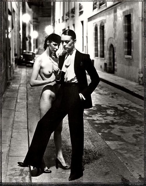 Works of great photographer Helmut Newton - 13