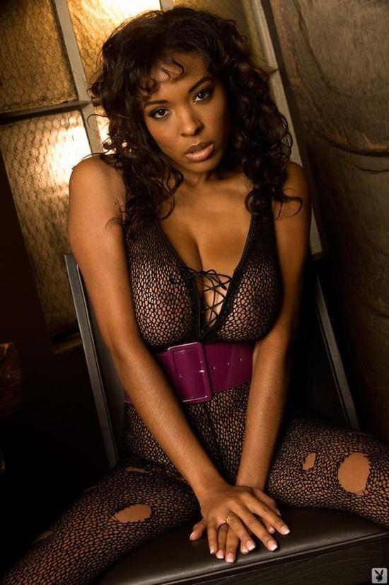Black Ebony Patrice Hollis Naked Shoes Devilsfilm 1