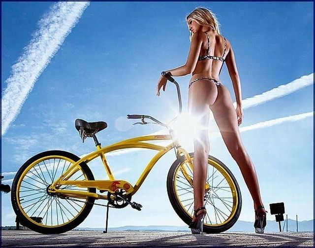 Girls and bicycles - 34