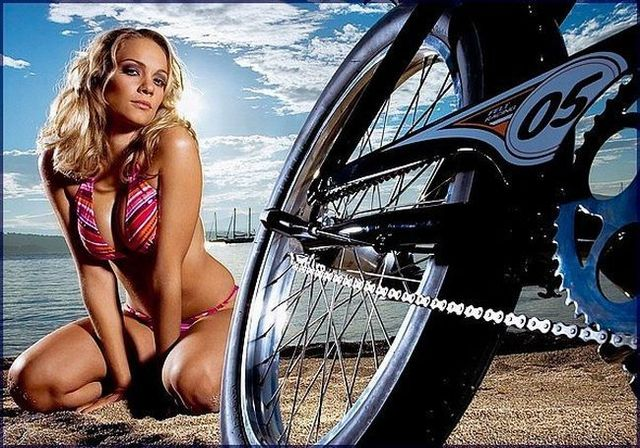 Girls and bicycles - 35