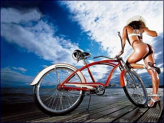 Girls and bicycles - 36