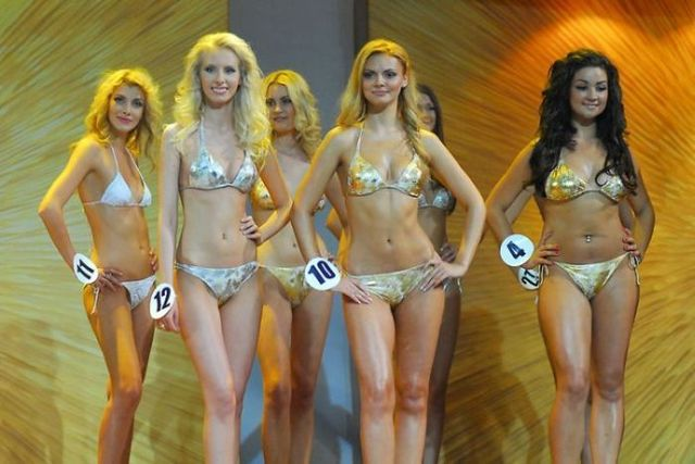Girls from the contest Miss Moscow - 2009 - 00