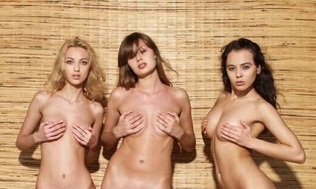 Sexy trio in a great photo shoot - 00