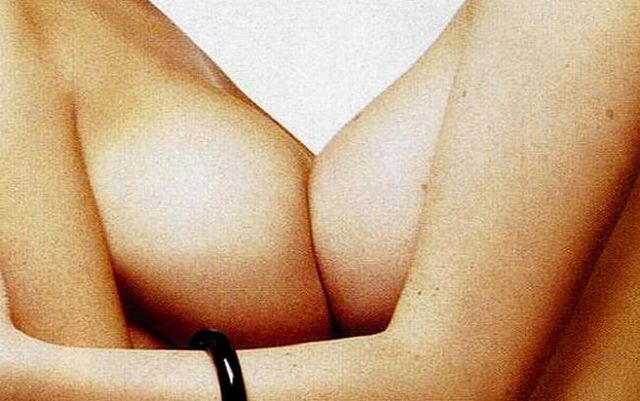 Wow! The girls press their boobs against one another - 15