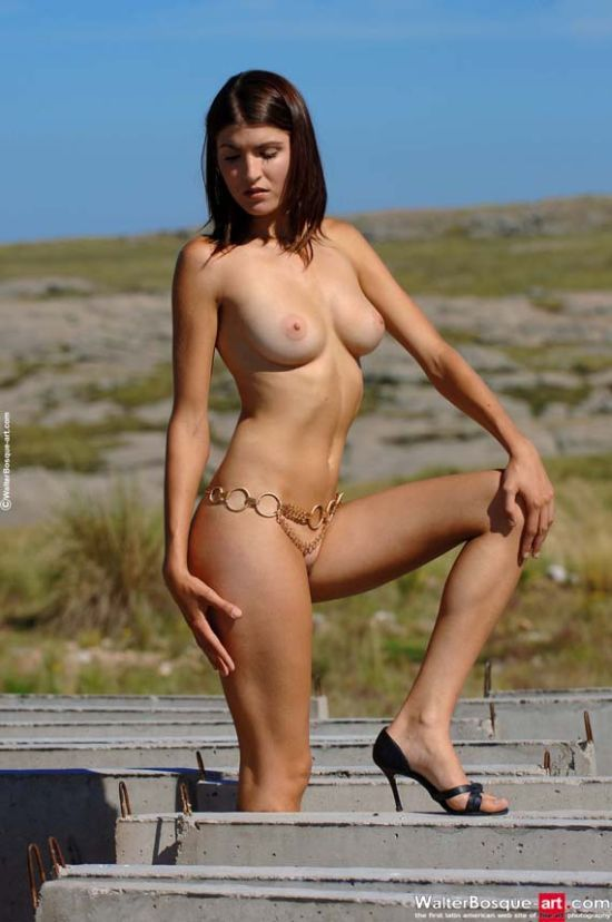 Pretty Consuelo with golden chains - 04