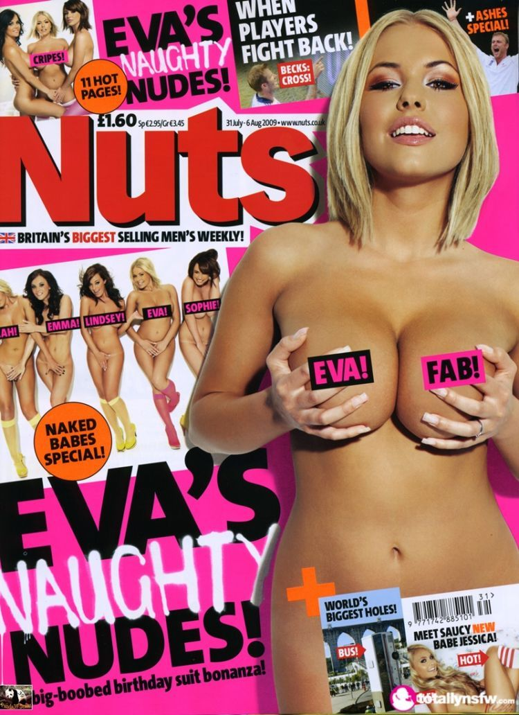 Eva wyrwal nuts magazine have removed