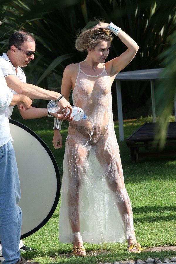 Erotic photo shoot of Patrizia Daddario. They say that she's Berlusconi's lover - 11