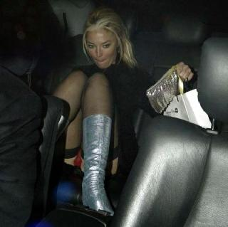 Look what celebrities got under their skirts