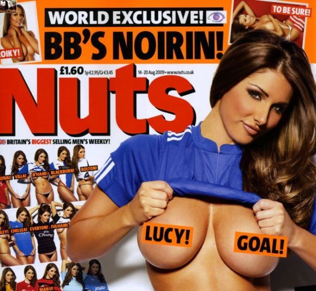Lucy Pinder in Nuts magazine - 00
