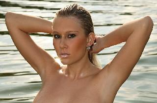 Gorgeous blonde Terka