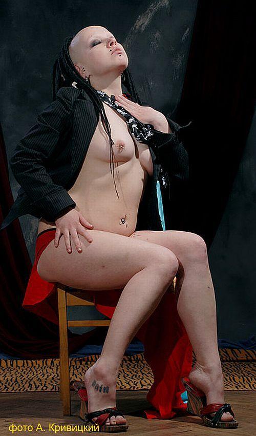 Gothic erotic photography