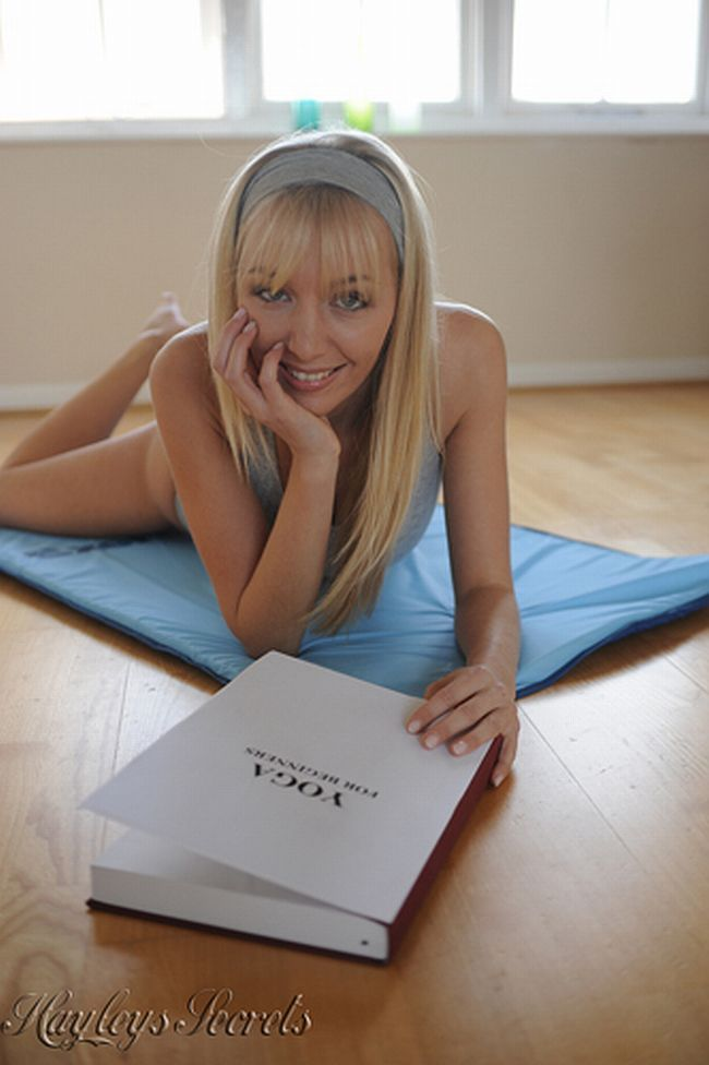 Erotic Yoga by Hayley Marie - 01