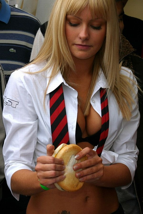 Girls in the image of schoolgirls. Very erotic - 29
