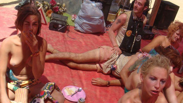 Girls from Burning Man Festival 2009 - 03