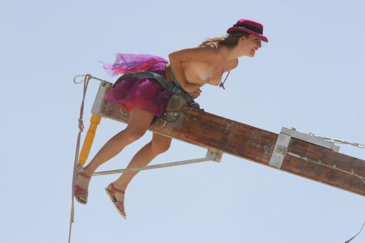 Girls from Burning Man Festival 2009 - 10