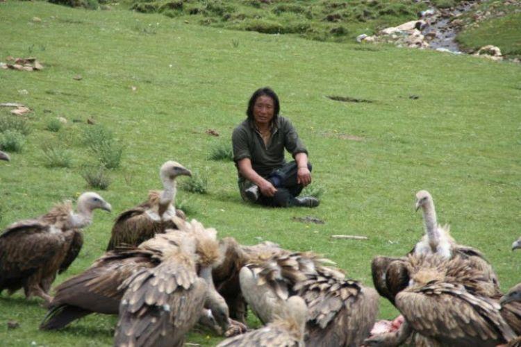 Burials in Tibet. NOT FOR SENSITIVE SOULS! - 30